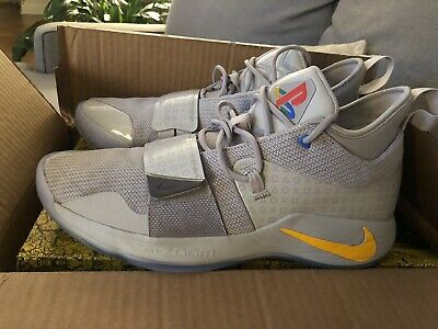 7e752f797b1d 2018 Nike PG 2.5 Playstation Paul George Basketball Shoes Size 13 Authentic