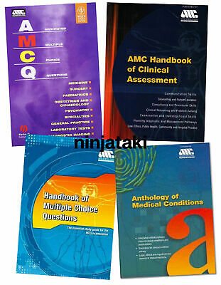 2005-2019 AMC MCQ Recalls QBanks Notes Prep Material Australian Medical Council