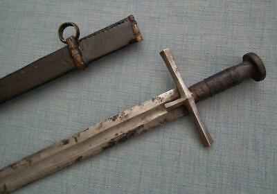 Antique North African Sudanese Islamic Sword Kaskara Mahdist 19th Century Sudan