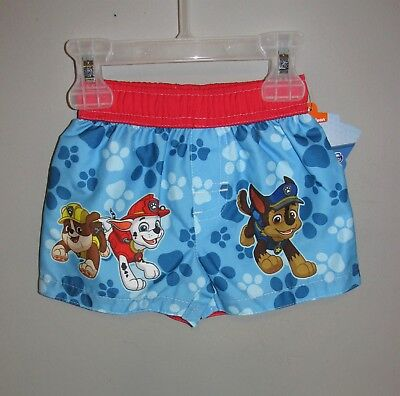 31c7c470ad PAW PATROL BABY Boy Swim Trunks 0-3 Months Infant Swimwear - $8.97 ...