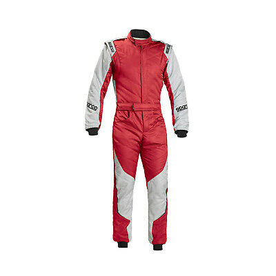 Neu Sparco Rennoverall Energie-RS-5 rot/silber (FIA homologation) (60)