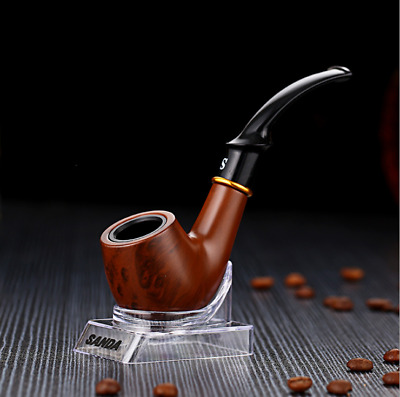 New Wood Tabacco Smoking Pipe Cigarettes Filter