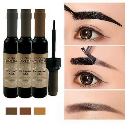 Peel Off Eye Brow Tattoo Tint Shadow Eyebrow Gel Cosmetics Makeup Long Lasting