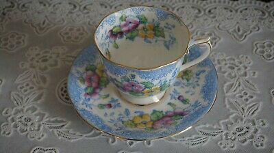 VINTAGE Royal Albert Bone China Lovelace Cup and Saucer, England