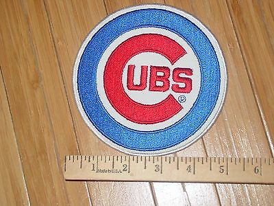 22517eea01f MLB Chicago Cubs Baseball Logo Jersey Patch Embroidered Sew Iron 5