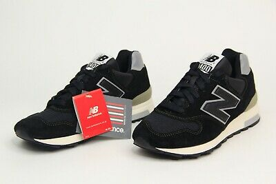 94342c1eb6e38 New Balance Made In USA Japan Exc Suede Shoes Black-Silver-Grey M1400BKS  Mens