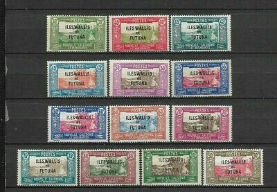 WALLIS & FUTUNA Islands 1939<. Beautiful series 13 new stamps*     (5484)