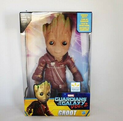 Marvel Guardians of The Galaxy Vol.2 Baby Groot Action Figure Ravager Outfit NEW
