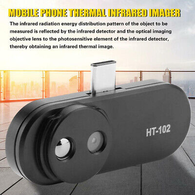 HT-102 Mobile Phone Thermal Infrared Imager Video Pictures Record for Android