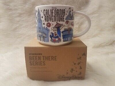 Disney Parks Starbucks California Adventure Been There Cup Mug * FULL SIZE *