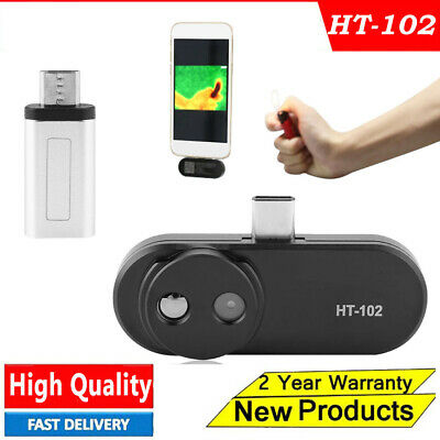 HT-102 Mobile Phone Thermal Infrared Imager Video Pictures Record For Android #y