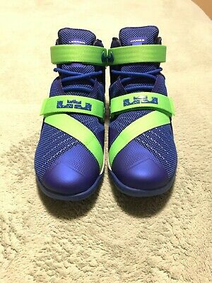 best sneakers ffada 86fed NIKE LEBRON IX 9 Soldier Sprite Game Blue/Green 749417-601 ...