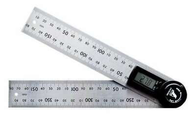 Shinwa Rules Digital Protractor 20cm With Hold Function 62495 New Japan F/S
