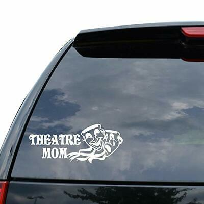 DRAMA MASK THEATRE MOM COMEDY TRAGEDY Decal Sticker Car Truck Motorcycle Window