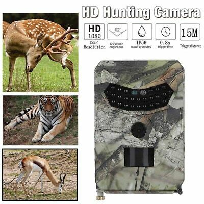 12MP HD Hunting Trail Camera PIR IR LED Motion Activated Security Wildlife Cam A