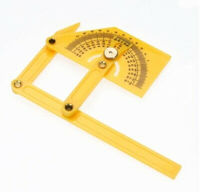 Protractor Angle Ruler 180 Degree Folding Accurate Measuring Tools Instruments