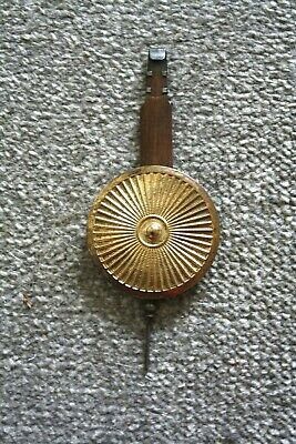 Vintage Wall Clock Pendulum for spares/repairs parts