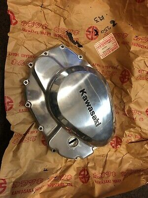 Genuine New Old Stock Kawasaki Z250A3 Right Hand Side Clutch Cover 14032-1008