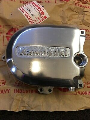 Genuine New Old Stock Kawasaki KD/KE/KS125 Generator Cover 14031-1019-2H