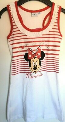 Official Girls Disney summer top age 3-4 Minnie mouse sleeveless