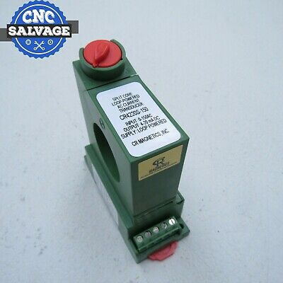 CR Magnetics Split Core Loop Powered AC Current Transducer CR4220S-150