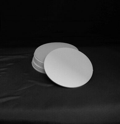 3mm White PVC Acrylic Plastic Discs Circles Pack of 10..CLEARANCE OFFER!