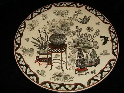 Chinese 19th C. Hand Painted Plate