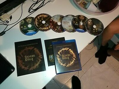IL SIGNORE DEGLI ANELLI TRILOGIA BLUE-RAY (lord of the rings blue ray disk)