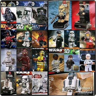 LEGO STAR WARS Lot Of x21 New Mint Factory Sealed Polybags Exclusive/Promo/Ann.
