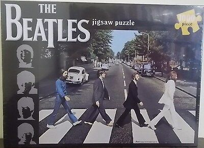 The Beatles ~ Abbey Road 1000 Piece Jigsaw Puzzle ~ Classic Album Cover