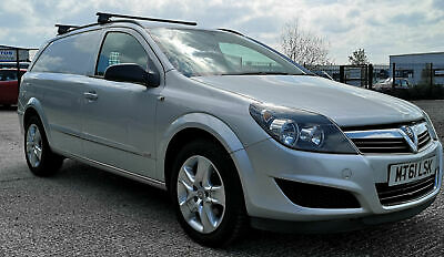 VAUXHALL ASTRA VAN SPORTIVE GOOD CHEAP SILVER AIR CON NAV 1.7CDTi NO VAT