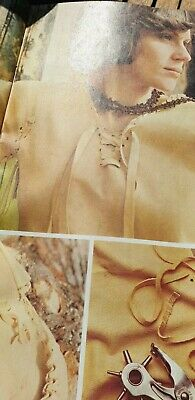 Vintage  Sewing Pattern,, How to Make Chamois Leather blouses Unisex  Reproduced
