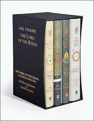 J. R. R. Tolkien The Lord of the Rings Collection 4 Books Box Set Gift Pack HB