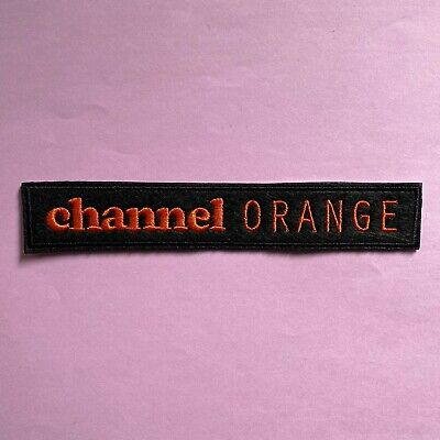 Iron on Patch - Frank Ocean Channel Orange Embroidered Hip Hop Rap