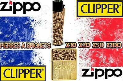 Pierres à Briquet - Flints for Lighter - SILEX Doré - Clipper Zippo - 2.2MMX5MM