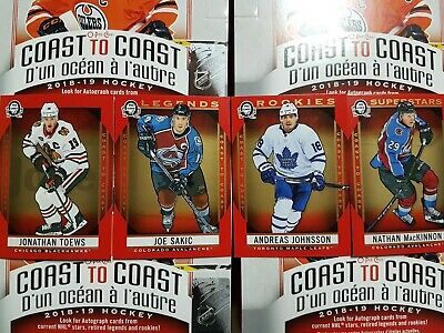 2018-19 O-Pee-Chee Coast to Coast Red (1-210) - YOU PICK FROM LIST