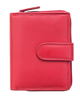 Soft Leather Small Prime Hide Alva Ladies Purse in a Choice of Colours