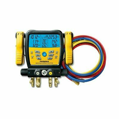 Bundle Fieldpiece SM480V Wireless 4-Port SMAN™ Manifold & Gauge w YJ 29985 Hoses