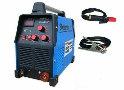 Sherman MMA 220C inverter welder AC 230 50Hz TIG DC IGBT welding ARC rectifier