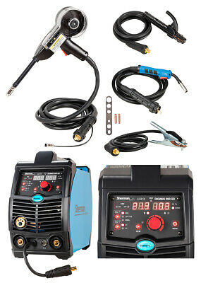 Sherman DIGIMIG 200GD SYNERGIC DIGITAL 200A Inverter MMA Brazing Welder+SPOOLGUN
