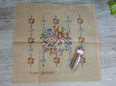 Vintage Ivo Tapestries Trammed Tapestry With Wools