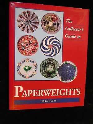 Còllector`s Guide to PAPERWEIGHTS, Briefbeschwerer Sarah Rossi