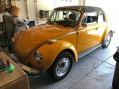 1978 Volkswagen Beetle - Classic Karmon body 1978 Super Beetle Convertible Virtually a Rust Free CO Car!
