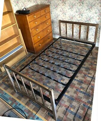 Utility furniture CC41 utility metal sprung oversize single bed