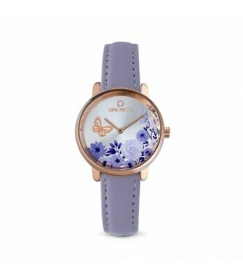 Ops! Objects Orologio Donna Bold Flower Lilla OPSPW-559 ORIGINALE