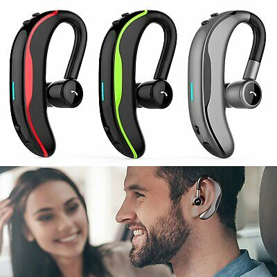 Wireless Headset Bluetooth Earpiece Hands-free Calling with Clear Voice Earbuds