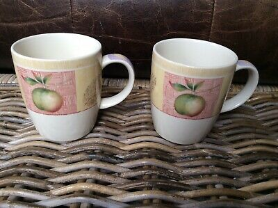 MARKS & SPENCER - WILD FRUITS - MUGS  x 2 Excellent Condition
