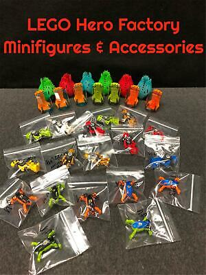 """Authentic Lego Hero Factory Minifigures Jumpers Pods Cockpits """"You Pick/Choose"""""""