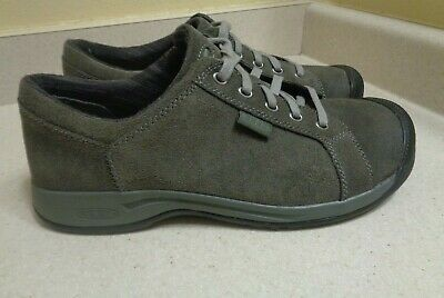 487645cab5fd KEEN REISEN LACE Women Gray Walking Oxford Shoe Sz 8 Lightly Used ...