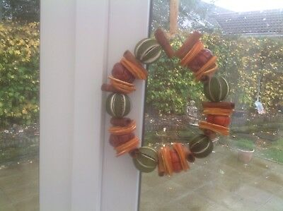 Dried Fruit Wreath Ring Whole Limes